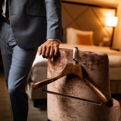 Ramínka Mekko skvěle doplňují luxusní hotel Aria. Podívejte se sami